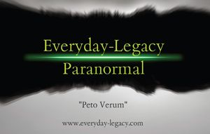 Everyday-Legacy Paranormal
