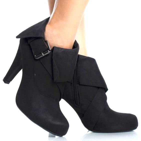 fold over ankle boot