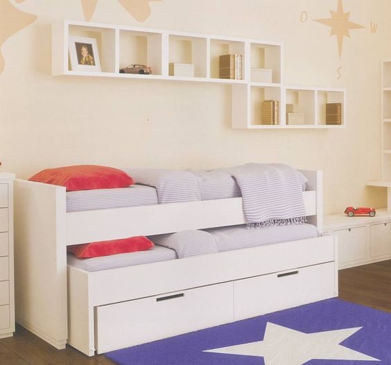 Caba as and google on pinterest - Cama nido con cajones ikea ...