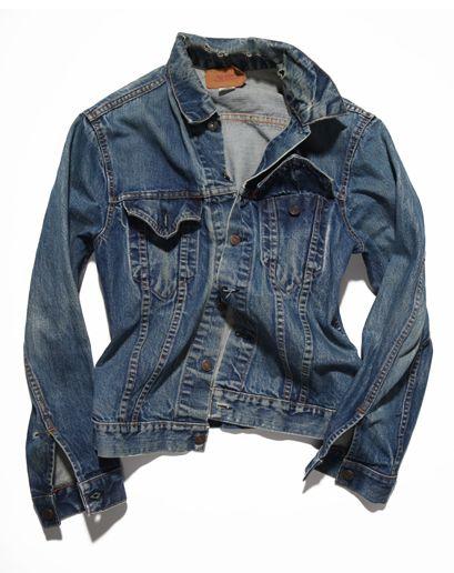 vintage levis mens denim jacket