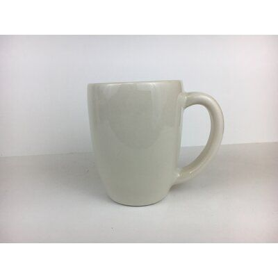 Diversified Ceramics San Antonio Mug 10 Oz Colour White Mugs Coffee Mugs Stoneware Mugs