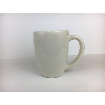 Diversified Ceramics San Antonio Mug 10 Oz Colour White Mugs Coffee Mugs Stoneware Mugs