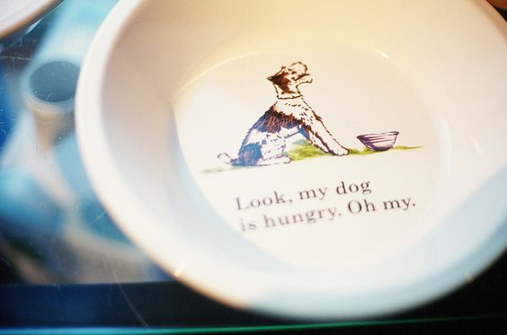 It's that funny bowl, @CollectedNest