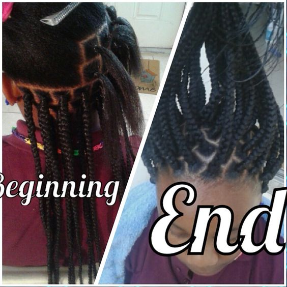 Crochet Box Braids With Rubber Bands : braids braids 4 girls braids micro braids erica braids fierce braids ...
