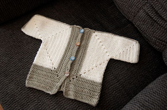 Sues No holes Hexagon Baby Sweater crochet Pinterest ...