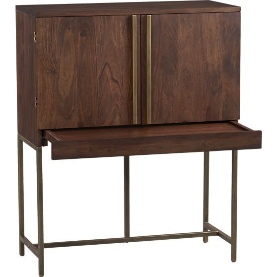 Bar Cabinets Crate And Barrel And Barrels On Pinterest