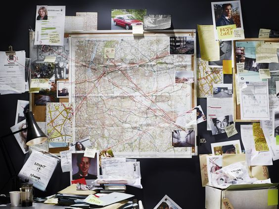 Decoding The Detective's 'Crazy Wall'Esquire Uk