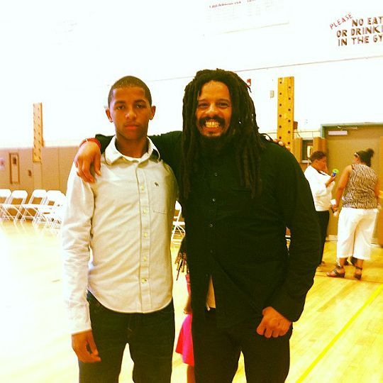 Zion Marley (age 15), Lauryn Hill's oldest son | Bob ...