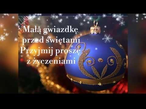 Boże Narodzenie życzenia Youtube świąteczne Teksty