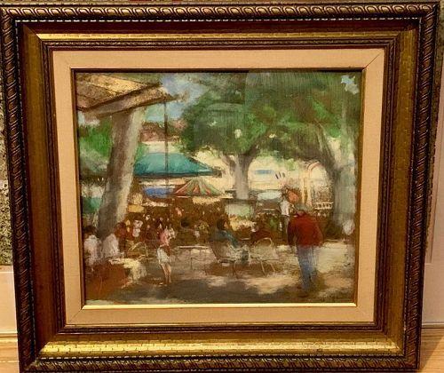 Pierre De Guingand Original Pastel 1948 Original Paintings Original Pastel Art