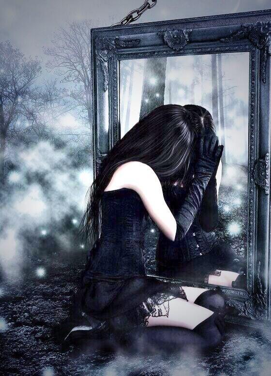 Dark Gothic Art Raven | goth art: