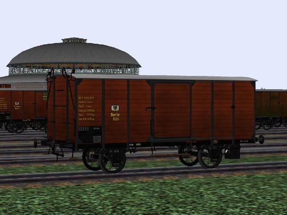 """KPEV - Güterwagen, """"Gl"""" nach Musterblatt IIb1 von 1889 - Set 1. Bis #EEP6 - http://bit.ly/KPEV-Güterwagen-Gl-Set1"""
