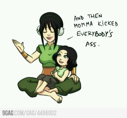 Fan Content Toph And Lin Thelastairbender