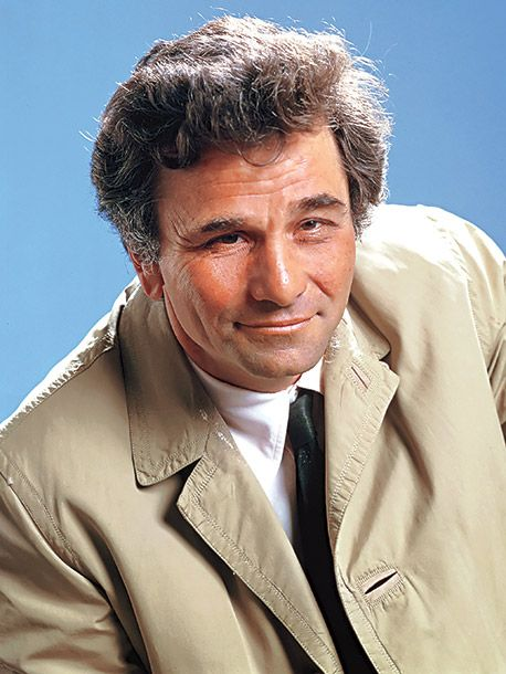 """2011 in film and TV : Peter Falk, American actor, died June 23, of Alzheimer's disease, at the age of 83; pictured in his role as television detective """"Colombo"""""""