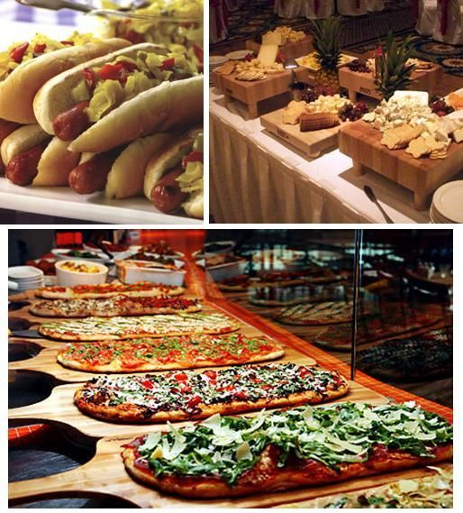 Food At Wedding Receptions: Reception Food Stations