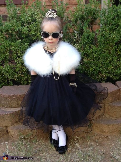 Diana: This is my granddaughter Evelyn. I came up the idea, and started looking for accessories. Found the dress on Zulily, and the fur wrap on Amazon. Just used the Internet...