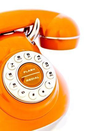 A cool orange phone. Nickelodeon needs this am I right?