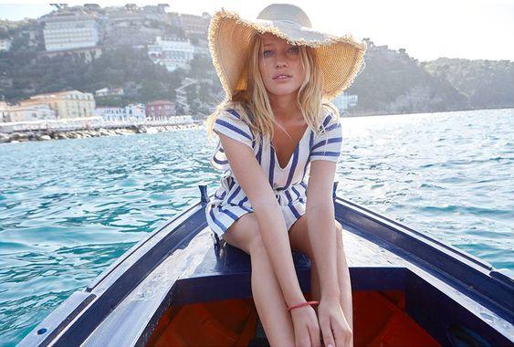 Sezane présente sa collection de juin sur la côte Amalfitaine ! * Chloé Fashion & Lifestyle