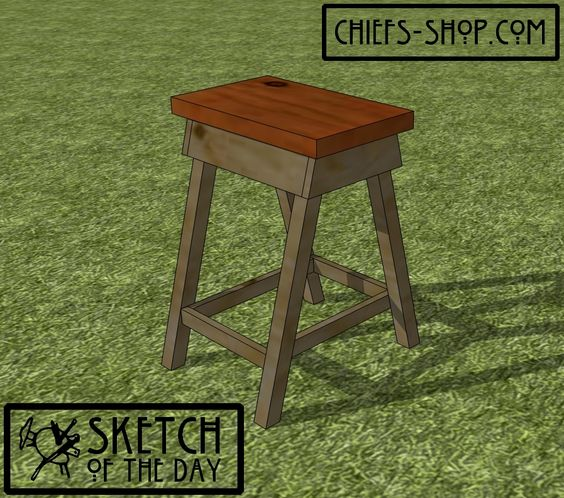 Sketch of the Day: Garden Side Table