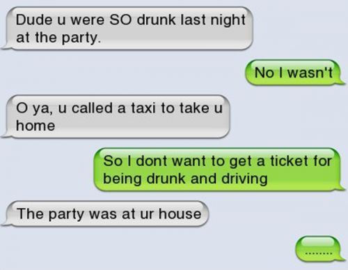 17 Texts That Prove Drunk People Are Hilarious: