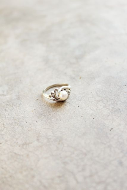 the most beautiful pearl ring