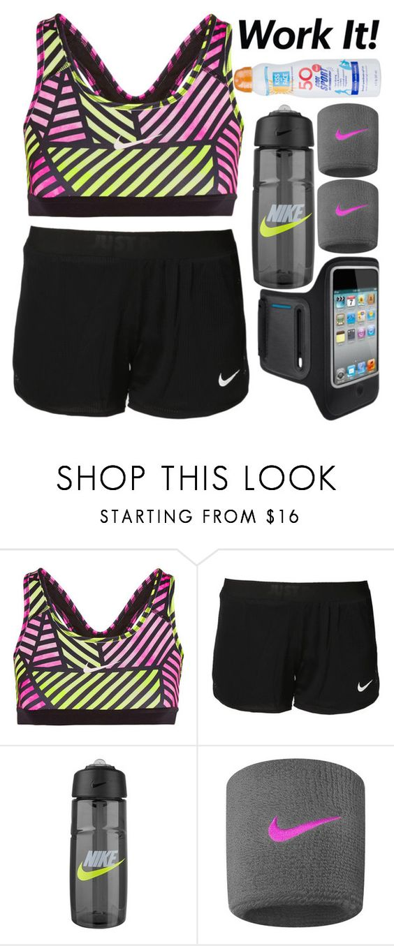 """Nike Sportswear"" by douglas-universe ❤ liked on Polyvore featuring NIKE, Belkin and Kiss My Face"