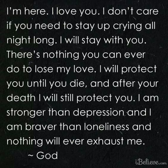 A prayer to reflect on when you or a loved one is hurting, upset, or sad.