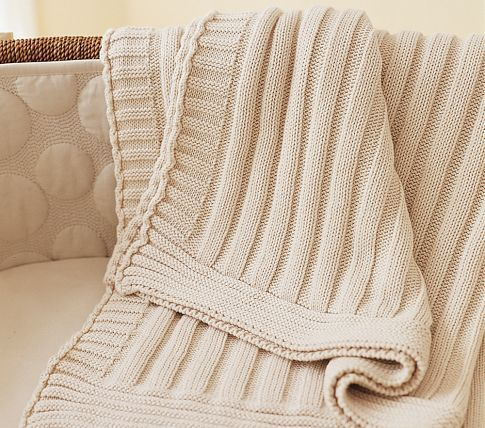 Keep your little one warm with this Pottery Barn Organic Stroller Blanket. LOVE!