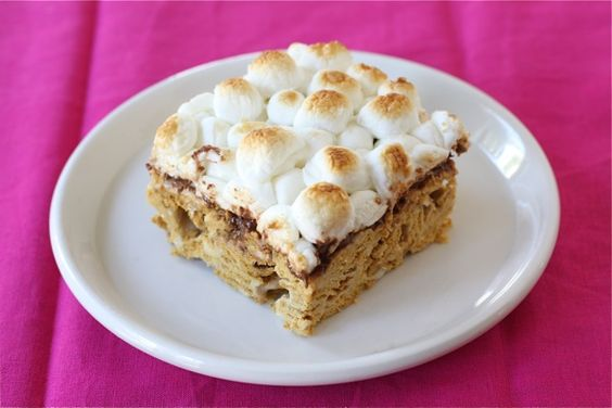 S'mores Bars.: Bars Yummy, Graham Smores, Dessert Recipes, Yummy Recipe, Smores Bars, Grahams Smores, Bar Recipes, Golden Graham Bars