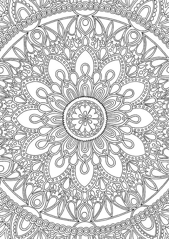 Coloring Pages Kinnda Complex