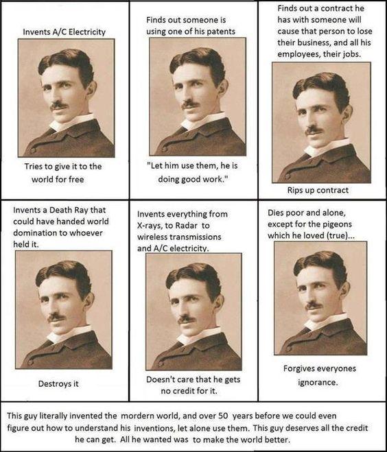 Sun Gazing    Nikola Tesla