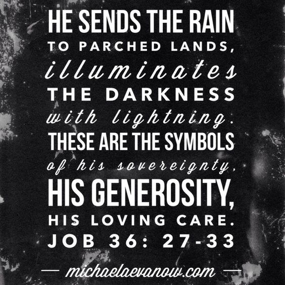 Image result for scripture about rain