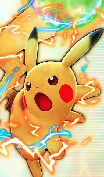 Pikachu's massive Electro Ball in Pokemon BW: Rival ...
