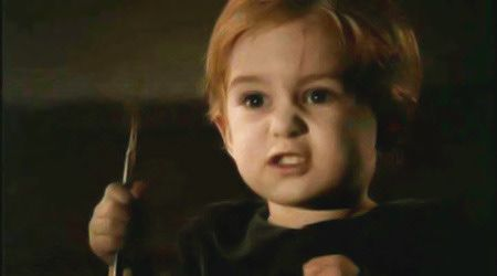 """Miko Hughes as Gage Creed (Pet Sematary) : """"Now, I want to ..."""