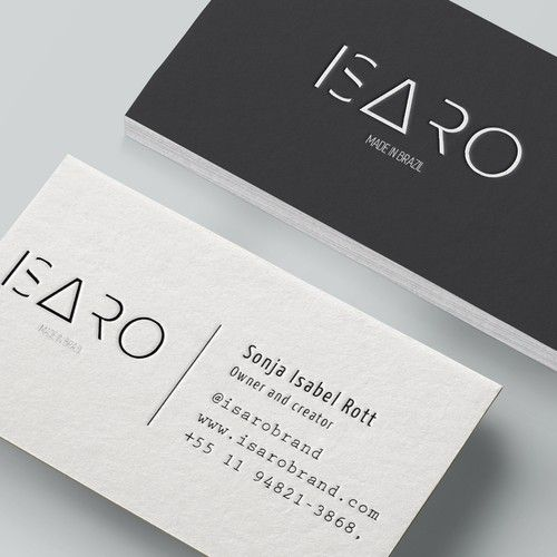 Clothing Brand In Need Of A Creative Business Card Business Card Contest Winning Design Business Business Cards Creative Custom Business Cards Business Design