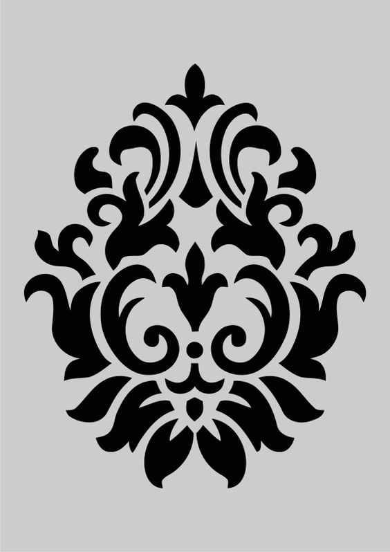 Corsini Damask stencil how-to: Use paint and a sponge roller to create a lacy textured effect. Description from pinterest.com. I searched for this on bing.com/images
