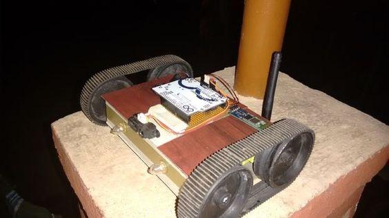 Arduino IR Robot - #electronics