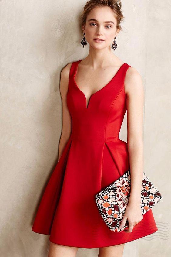 2016 marca De moda De nova mulheres vestidos De Festa curtos Vestido De algodão Plus Size preto vermelho sem mangas Vestido De verão para as mulheres De Festa em Vestidos de Roupas e Acessórios no AliExpress.com | Alibaba Group: