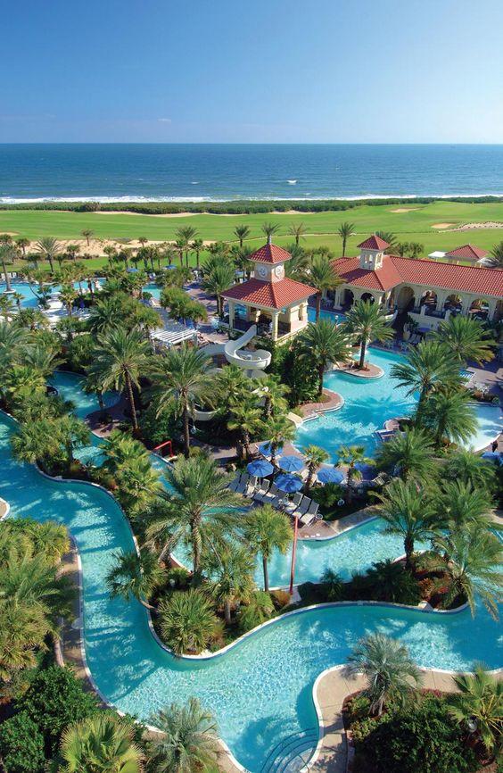 Hammock Beach Resort in Florida. Best destination ever! Looks like something in a dream.