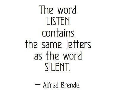 Image result for the word listen contains the same letters