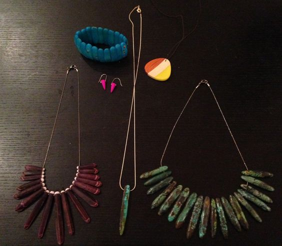 Re-stringing and creating some of my own jewelry.  I will love shopping in my closet again!!!