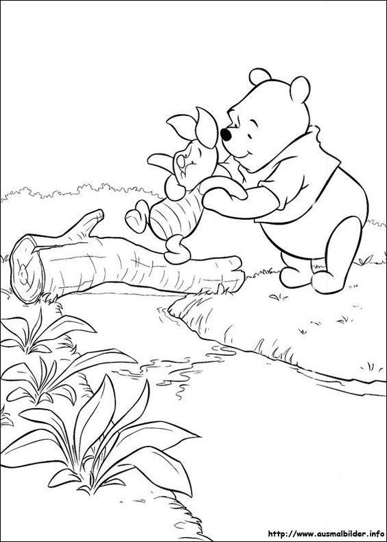 Winnie Puuh malvorlagen | Coloring Pages, Ausmalbilder | Pinterest ...