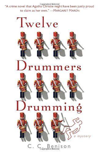Twelve Drummers Drumming: A Father Christmas Mystery by C. C. Benison http://www.amazon.com/dp/0440246466/ref=cm_sw_r_pi_dp_hSIEub14KJ62C