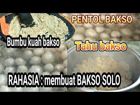 Resep Rahasia Membuat Bakso Yang Paling Enak Bakso Solo Bersama Cenut Nut Youtube Bakso Resep Resep Masakan