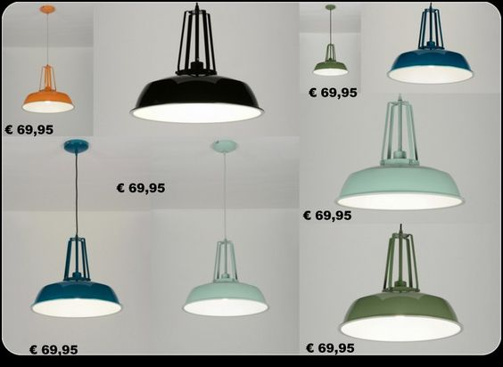 Huisdecoratie interieur . Industriële landelijke Lampen voor ...