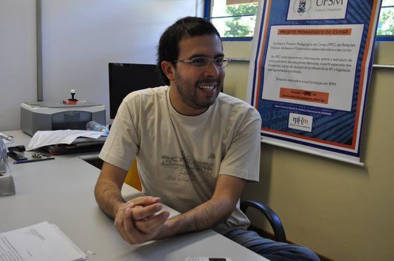 o Relações Públicas André fala sobre sua escolha profissional Foto: Tonie M. Gregory dos Santos