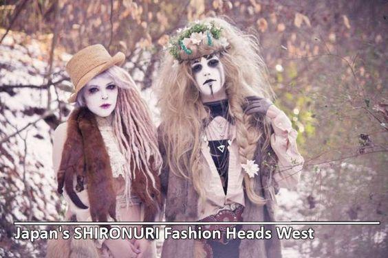 Japan's SHIRONURI Street Fashion Is Heading West  #streetfashion #shironuri