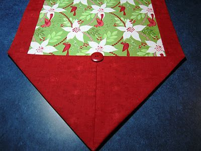 Ten minute table runner i made 37 of these for christmas for 10 minute table runner written instructions