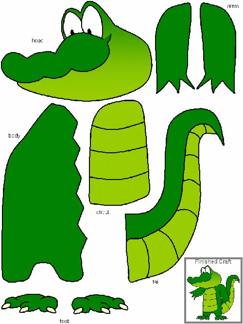 Alligator craft - great for short a short.  Comes in Color and BW template.  Recommended by Charlotte's Clips