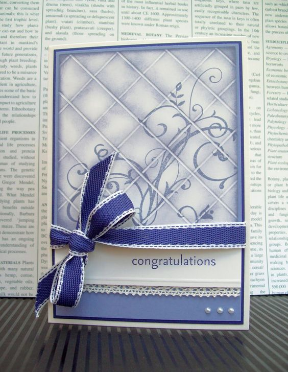 White House Stamping: Tiled Wisteria Case...